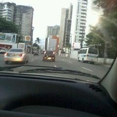Photo taken at Avenida Bernardo Vieira de Melo by Janayna L. on 5/19/2012