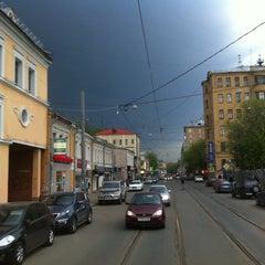 Photo taken at Бауманская улица by Alexander F. on 5/5/2012