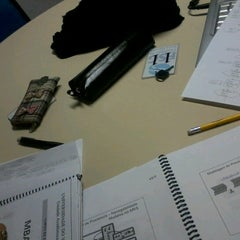 Photo taken at FSG | Biblioteca by Lu S. on 6/27/2012