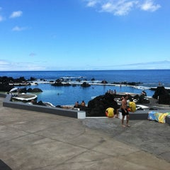 Photo taken at Piscinas Naturais do Porto Moniz by Susy G. on 6/19/2012