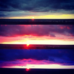 Photo taken at Wasaga Beach by Michelle C. on 7/27/2012