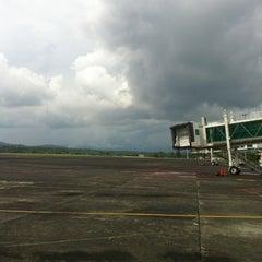 Photo taken at Sam Ratulangi International Airport (MDC) by Julia514 on 7/13/2012