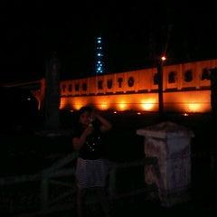 Photo taken at Benteng Kuto Besak by SitaStillLaLaLa on 9/5/2012