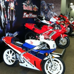 Photo taken at Fay Myers Motorcycle World by Theo S. on 4/10/2012
