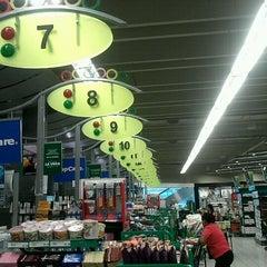 Photo taken at Supermercados Nacional by Miguel A. on 7/14/2012