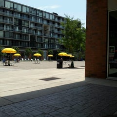 Photo taken at The Piazza by Ivy T. on 6/10/2012