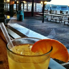 Photo taken at Mike's Crabhouse by Liz M. on 3/25/2012