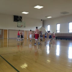 Photo taken at Sandy Utah West Stake Recreation Center by Tyler P. on 4/14/2012
