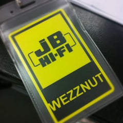 Photo taken at JB Hi-Fi by eat 2. on 5/4/2012