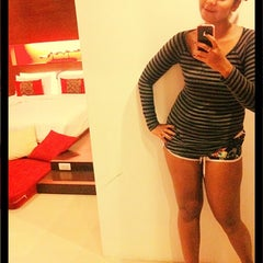 Photo taken at al•fres•co hotel by June A. on 4/12/2012