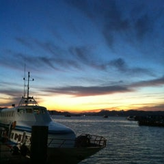 Photo taken at Jetty Point (Jeti) by Kukoq N. on 6/28/2012