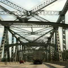 Photo taken at Brent Spence Bridge by Dan H. on 6/23/2012