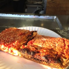 Photo taken at L&B Spumoni Gardens by Lucia D. on 6/17/2012