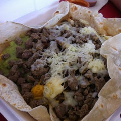 Photo taken at Albertacos by Angela B. on 8/11/2012