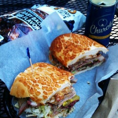 Photo taken at The Sandwich Spot by Mark H. on 9/12/2012