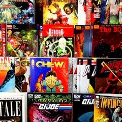 Photo taken at Hub Comics by Brian W. on 4/7/2012