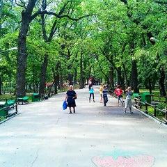 Photo taken at Городской парк культуры и отдыха им. М. Горького by Мират К. on 5/14/2012