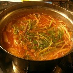 Photo taken at Dae Bok Restaurant by Adam C. on 5/23/2012