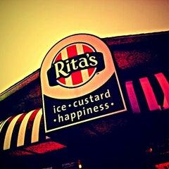 Photo taken at Rita's Italian Ice by Nakeva (Photography) C. on 3/20/2012