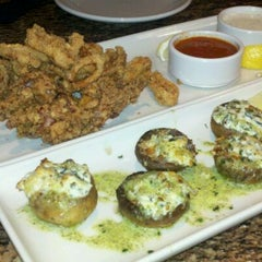 Photo taken at BJ's Restaurant and Brewhouse by Marlene W. on 3/16/2012