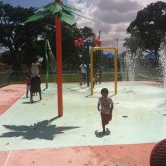 Photo taken at Juan Pablo Duarte Park by Sabrina g. on 7/30/2012