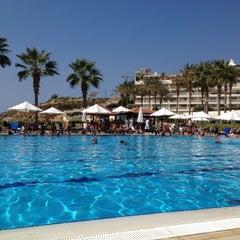 Photo taken at Mövenpick Hotel Beirut by Hassan B. on 9/2/2012