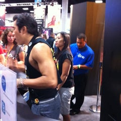 Photo taken at Official Spike Booth at Comic-Con by Edward L. on 7/13/2012