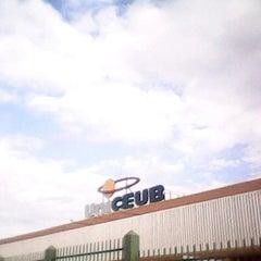 Photo taken at UniCEUB - Centro Universitário de Brasília by André A. on 3/17/2012