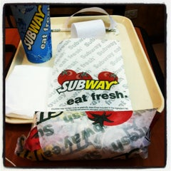 Photo taken at Subway by Yanie on 2/19/2012