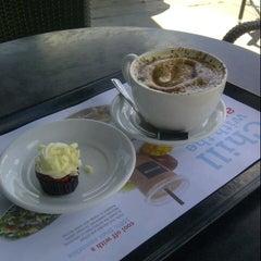 Photo taken at Aroma Espresso by Elton C. on 8/18/2012