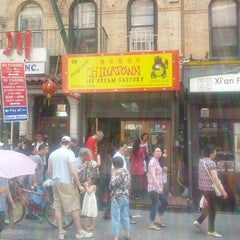 Photo taken at The Original Chinatown Ice Cream Factory 華埠雪糕行 by Will H. on 5/26/2012
