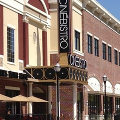 Photo taken at Cinébistro at Town Brookhaven by Pamela AllIDoIsWin J. on 4/14/2012
