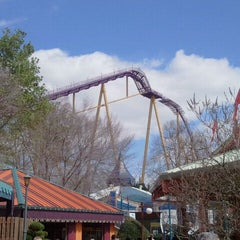 Photo taken at Apollo's Chariot - Busch Gardens by La S. on 4/1/2012