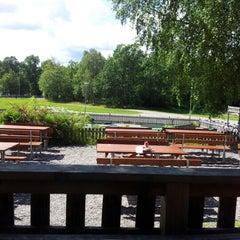 Photo taken at Hellasgården by Gabbe h. on 7/20/2012