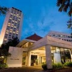 Photo taken at Hotel Bumi Surabaya by Melinda G. on 2/12/2012