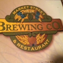 Photo taken at Market Street Brewing Company by Maria Cifone O. on 9/9/2012