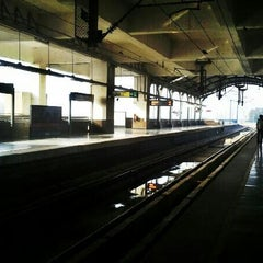 Photo taken at Tughlaqabad Metro Station by Nitish K. on 4/27/2012