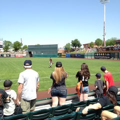 Photo taken at Scottsdale Stadium by MattP on 3/26/2012