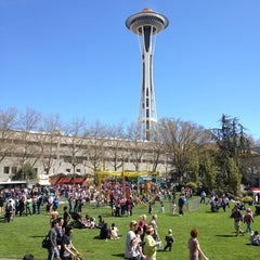 Photo taken at Seattle Center by Justin B. on 4/21/2012
