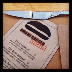 Photo taken at Umami Burger by Shannon H. on 6/22/2012