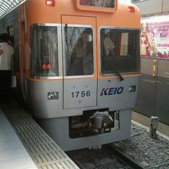 Photo taken at 京王井の頭線 渋谷駅 (IN01) by Miku N. on 7/28/2012