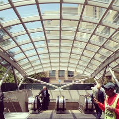 Photo taken at Foggy Bottom-GWU Metro Station by John W. on 5/17/2012
