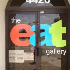 Photo taken at The Eat Gallery by MsZsaZsa S. on 6/3/2012
