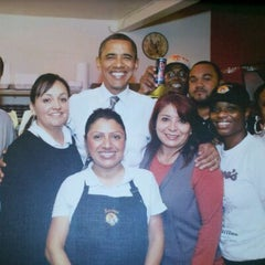 Photo taken at Roscoe's House of Chicken and Waffles by Cicely on 3/1/2012