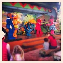 Photo taken at Sesame Street Safari Of Fun by Javier M. on 2/14/2012