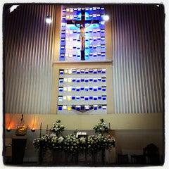 Photo taken at Gereja St. Ignatius Loyola by Sherly M. on 6/3/2012