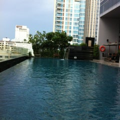 Photo taken at Novotel Bangkok Ploenchit Sukhumvit by Maybe A. on 7/3/2012