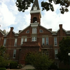 Photo taken at Old Main by Charly S. on 8/3/2012