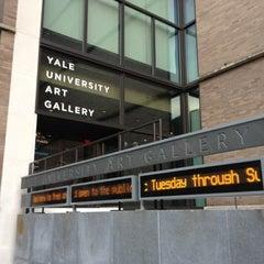 Photo taken at Yale University Art Gallery by Harjit on 7/18/2012
