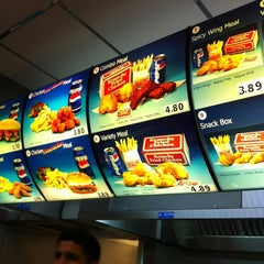Photo taken at Krunchy Fried Chicken by George H. on 4/22/2012